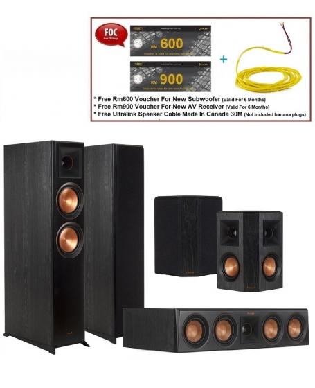 Klipsch RP-6000F 5.0 Speaker Package