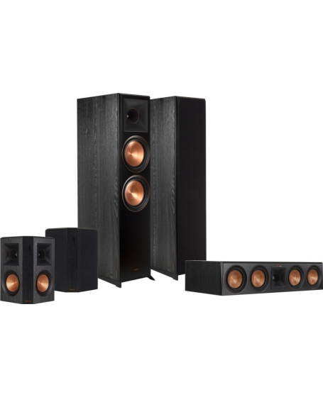 Klipsch RP-8000F 5.0 Speaker Package
