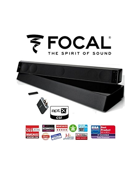 Focal Dimension 5.1ch Hi End Soundbar With Sub Woofer ( DU )