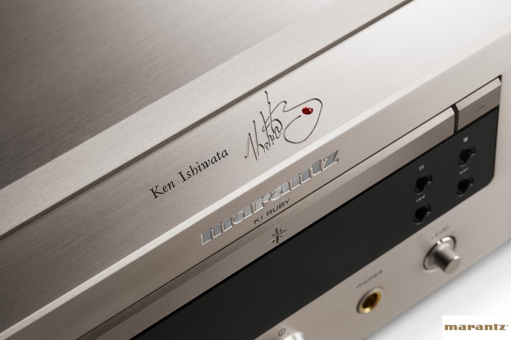Marantz PM-KI Ruby Integrated Amplifier and SA-KI Ruby SACD