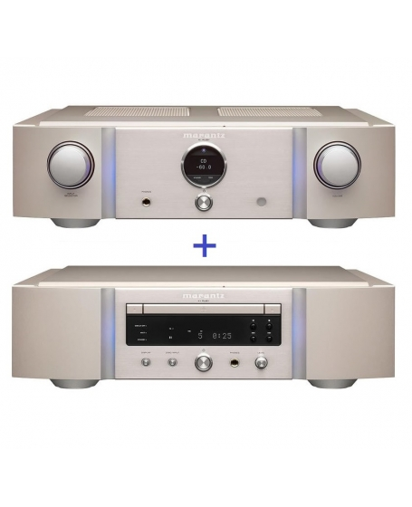 Marantz PM-KI Ruby Integrated Amplifier and SA-KI Ruby SACD Player