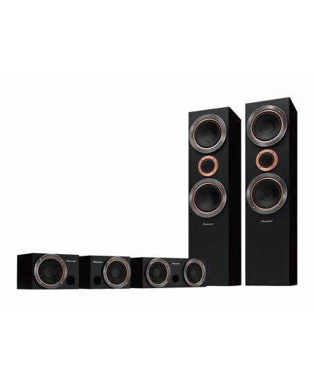 PIoneer S-RS55TB 5.0 Speaker Package