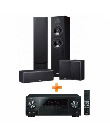 Pioneer & Yamaha 5.0Ch Home Theatre Package
