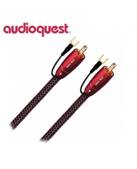 Audioquest Irish Red 5M Subwoofer Cables