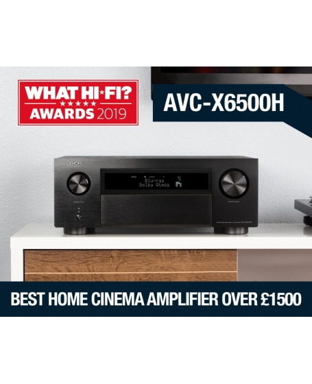 Denon AVC-X6500H 11.2 Ch Atmos Network Av Receiver Made In Japan