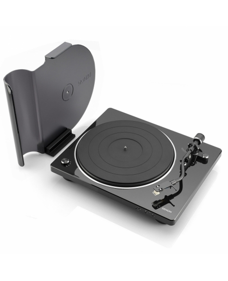 Denon DP-450USB Hi-Fi Turntable with original S-Shape tonearm and USB