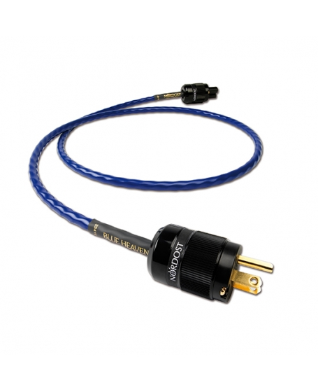 Nordost Blue Heaven 2m Power Cord US Plug Made In USA