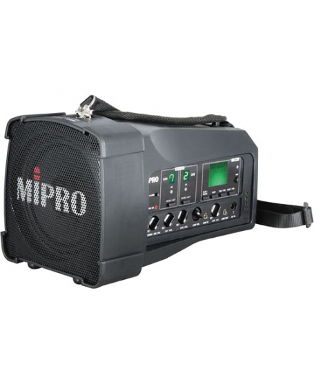 Mipro MA-100DB Personal Wireless PA System With 2 Handheld Mic