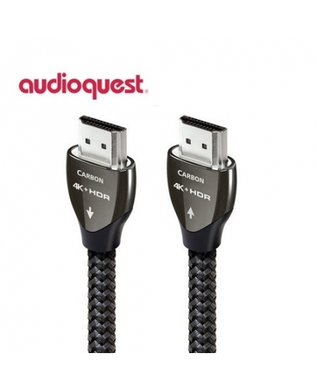 AudioQuest Carbon 2M HDMI 4K Cable