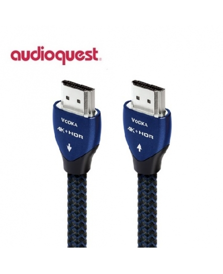 AudioQuest Vodka 2M HDMI 4K Cable