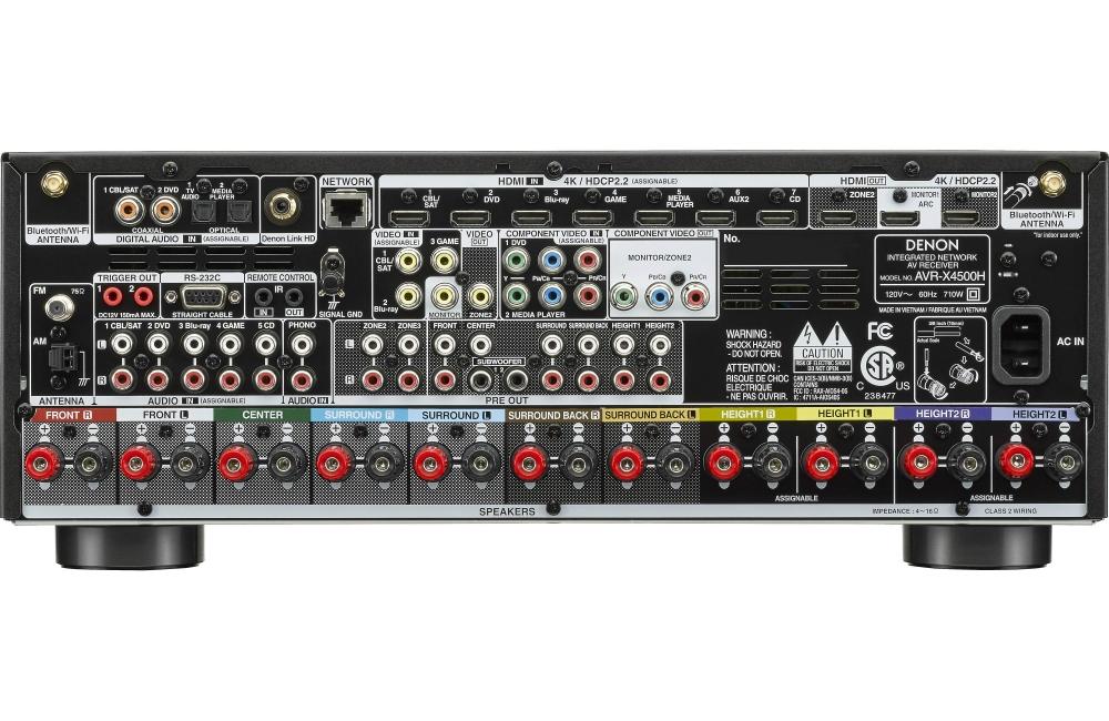 Denon AVR-X3500H VS Denon AVR-X4500H