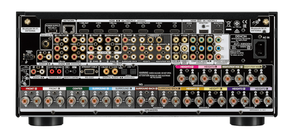 Denon AVR-X8500H VS Marantz SR8012