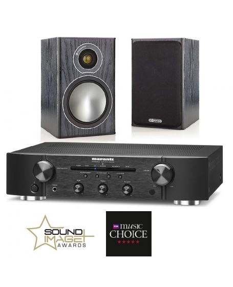 Marantz Pm5005 + Monitor Audio Bronze 1 Hi-Fi System Package