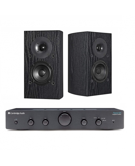 Cambridge Audio TOPAZ AM5 +Pioneer SP-BS22-LR Hi-Fi System Package