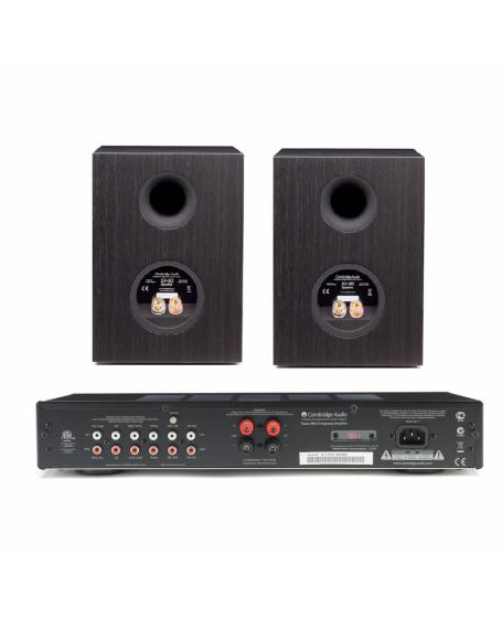 Cambridge Audio TOPAZ AM10 + Cambridge Audio SX50 Hi-Fi System Package