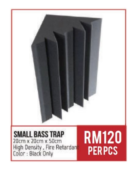 BA Small Bass Trap 50cm x 20cm x 20cm