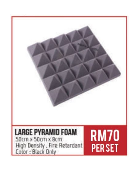 BA Large Pyramid Foam