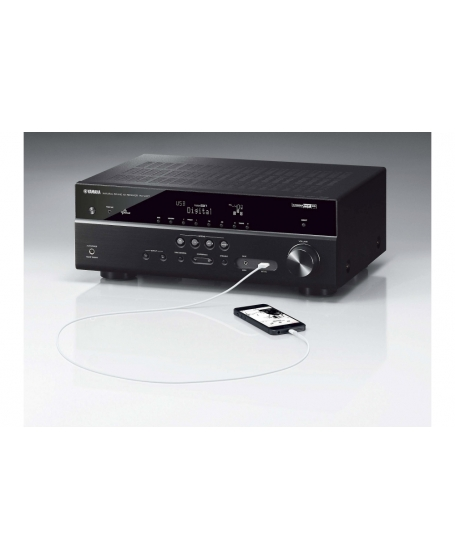 Yamaha RX-V477 5.1-Channel Network AV Receiver with Apple® AirPlay® ( PL )