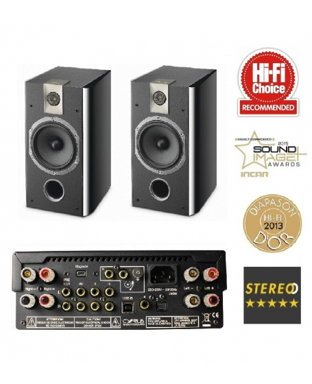 Cyrus One HD Integrated Amp + Focal Chorus 706 Hi-Fi System Package
