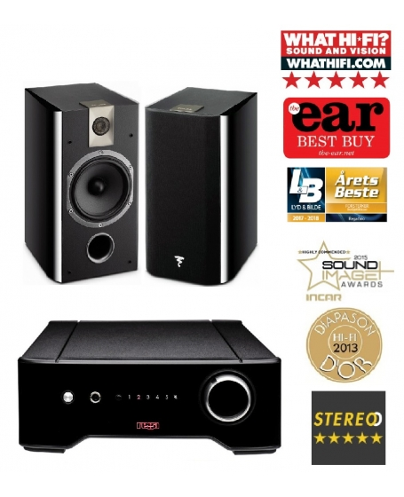 Rega Brio Integrated Amp +  Focal Chorus 706 Hi-Fi System Package