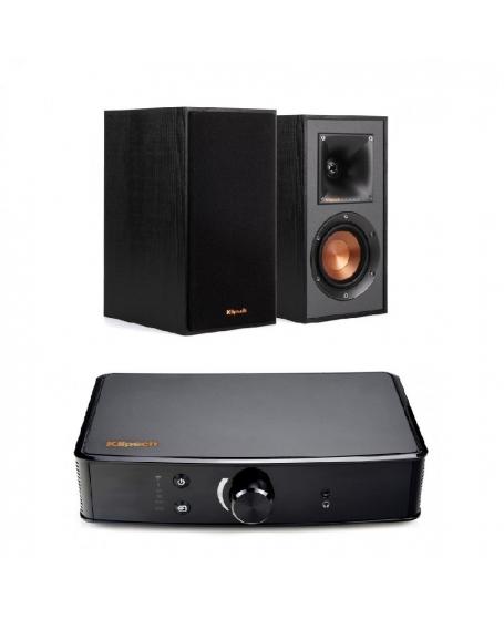 Klipsch PowerGate + Klipsch R-41M Hi-Fi System Package