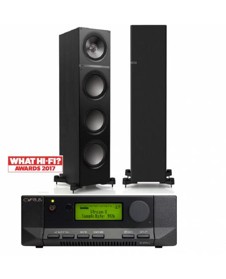 Cyrus 6 DAC + KEF Q500 Hi-Fi System Package