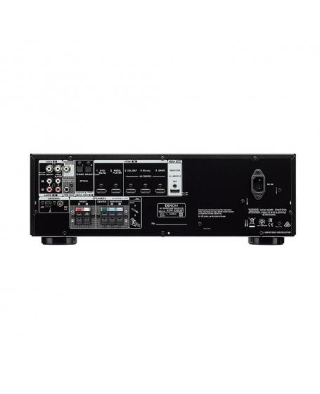 Denon AVR-X250BT 5.1Ch 4K Bluetooth AV Receiver ( PL )