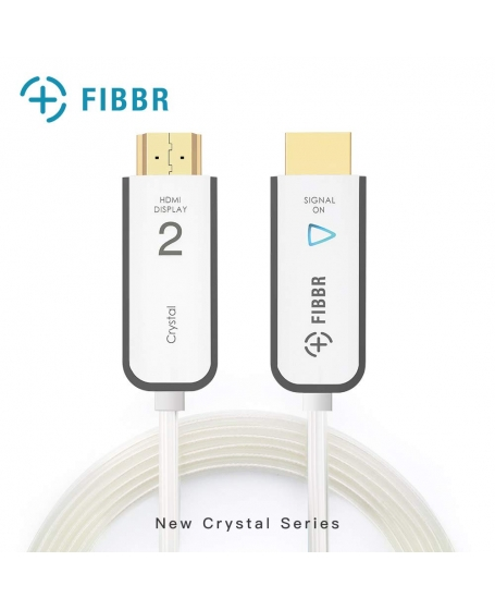 FIBBR Crystal 4K HDMI Cable 3 Meter