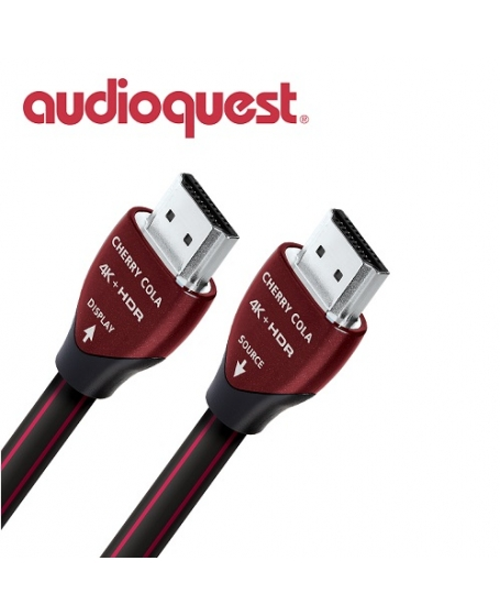 Audioquest Cherry Cola Active Optical HDMI Cable 15Meter
