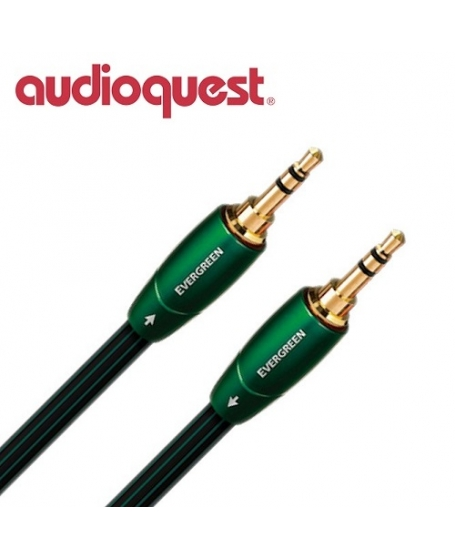 Audioquest Evergreen 3.5mm to 3.5mm Interconnects 1.5Meter