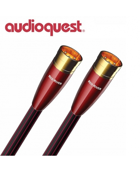 Audioquest Red River XLR to XLR 1.5meter