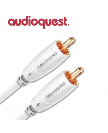 Audioquest Greyhound 3M Subwoofer Cables