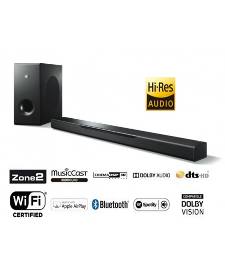 Yamaha YAS-408 Sound Bar With Wireless Subwoofer