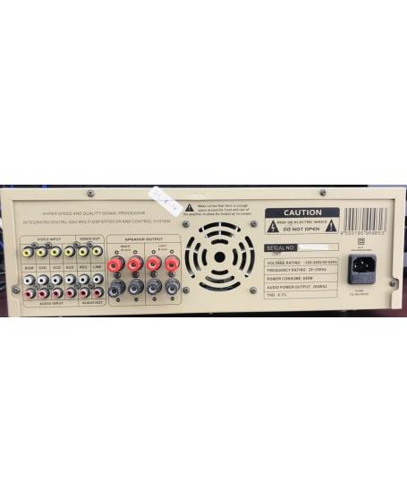 ( Z ) Pro Ktv DA-X63 Karaoke Amplifier ( PL ) - Sold Out 25/03/20