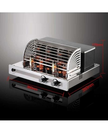 Pro Av VA1000 Headphone & Integrated Tube Amplifier