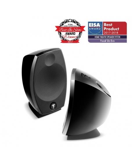 Focal SIB Evo 2.0 2-Way Bass-Reflex Satellite Loudspeakers - Pair