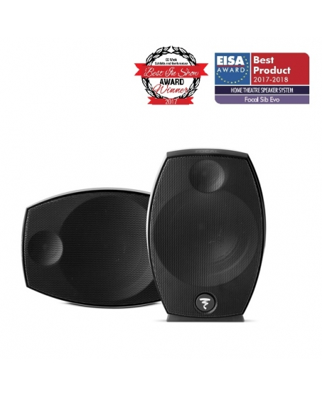 Focal SIB Evo 2.0 2-Way Bass-Reflex Satellite Loudspeakers - Pair