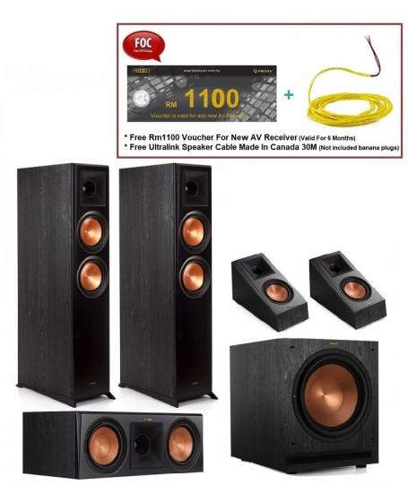 Klipsch RP-6000F 5.1 Speaker Package