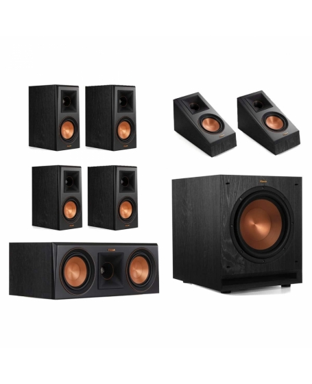 Klipsch RP-500M 7.1 Speaker Package