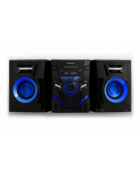 Pioneer X-RSM310DVHBT DVD Mini System for Club Sound