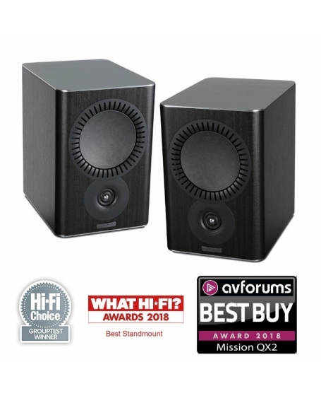 Mission QX-2 Bookshelf Speakers