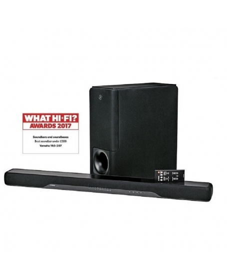 Yamaha YAS-207 Sound Bar With Wireless Subwoofer ( DU )