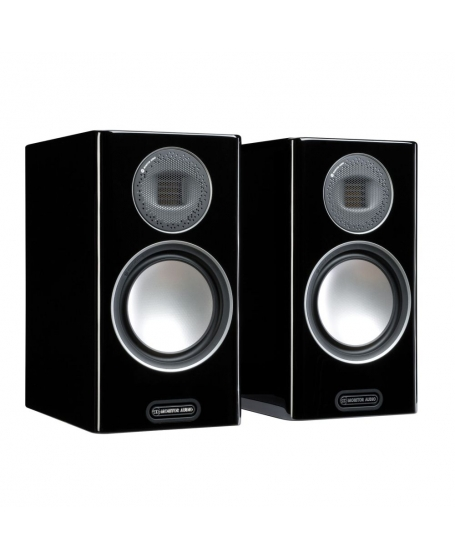 Monitor Audio Gold 100 5G Bookshelf Speakers.