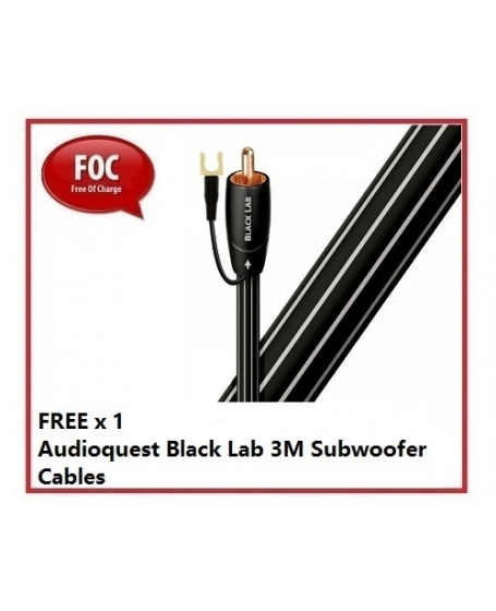 """Monitor Audio Gold W12 5G 12"""" Powered Subwoofer."""