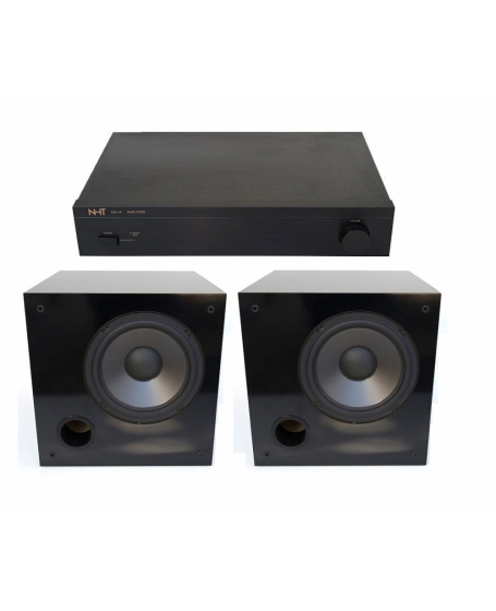 NHT SW-2P Passive Subwoofer x 2 unit + NHT MA-1 Power Amplifier ( PL )