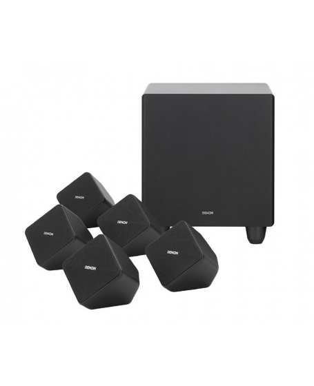 Denon SYS-2020 5.1Ch Home Theatre Speaker With Active Subwoofer