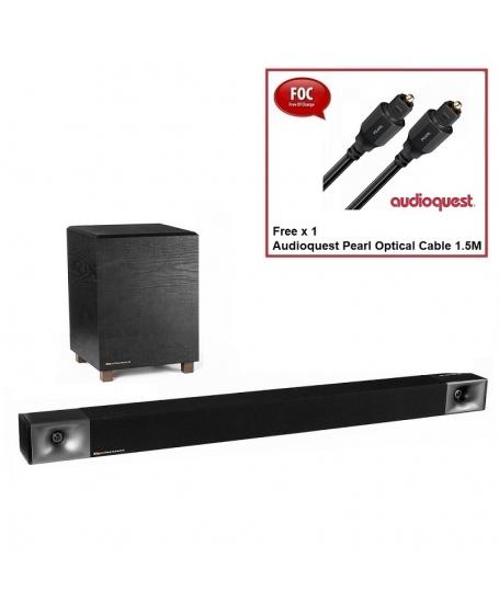 Klipsch BAR 40 2.1 Soundbar with Wireless Subwoofer