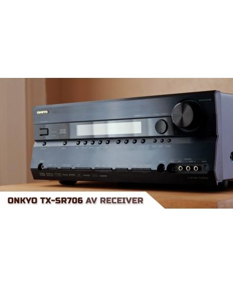 Onkyo TX-SR706 7.1Ch THX Select2™ Plus  AV Receiver ( PL )