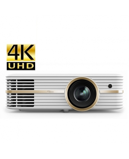 Optoma UHD51A Smart 4K Home Cinema Projector With 3D And Built In Media Player (DU )