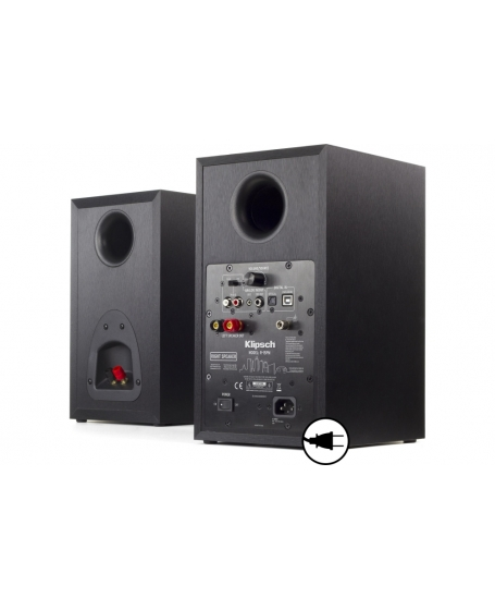 Klipsch R-15PM Powered Monitor Speakers